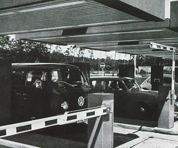 aéroport de Francfort 1971