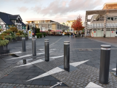 Langenfeld Germany Automatic Systems bollards