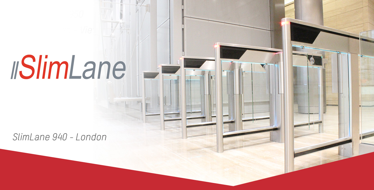SlimLane speed gates