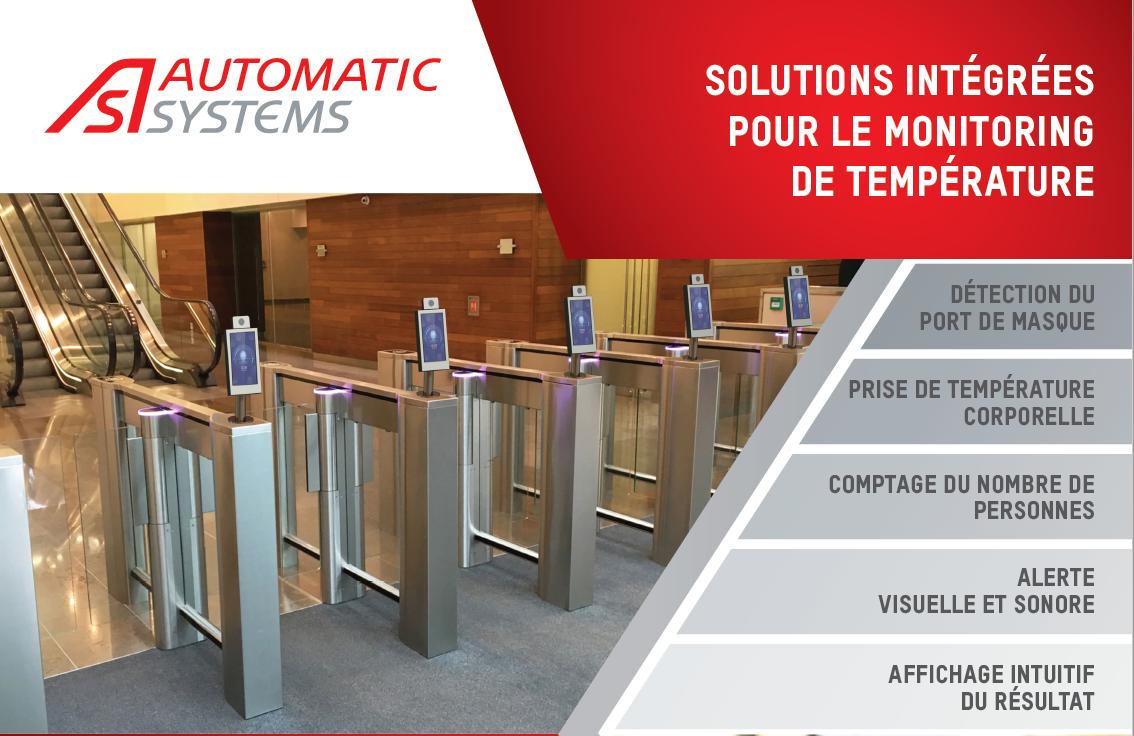 Brochure solutions sécurité COVID-19