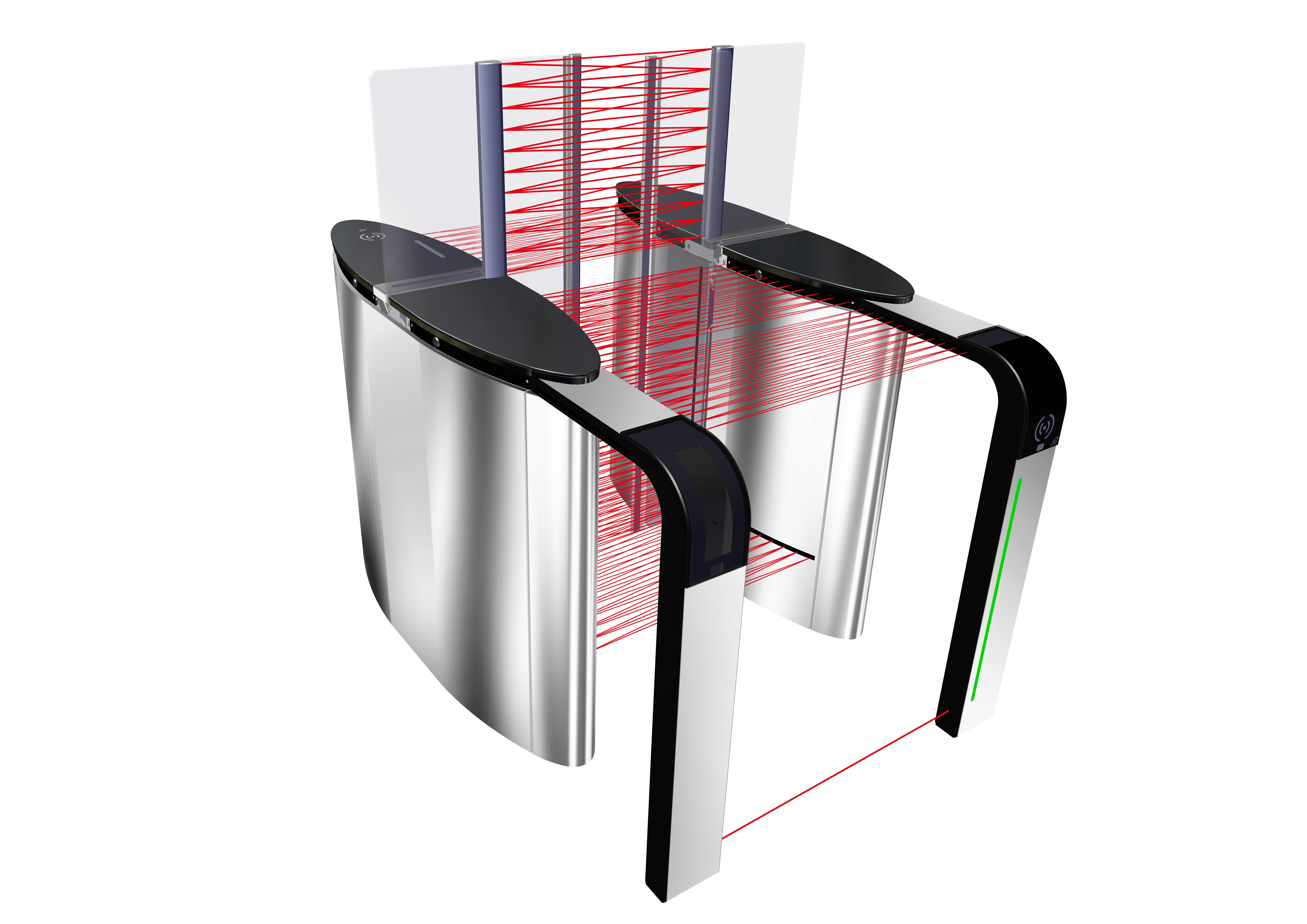 DIRAS fraud detection technology for speedgate and turnstile