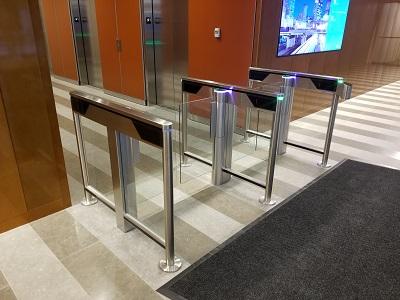 SlimLane 940-950 NAM Security Entrance Lanes Turnstiles Automatic Systems