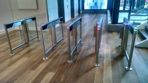 SlimLane 944-950 NAM Security Entrance Lanes Turnstiles Automatic Systems Smart n' Slim