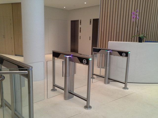 SlimLane 950 Security Entrance Lanes Turnstiles Automatic Systems