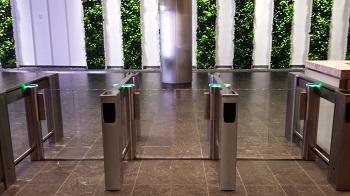 SlimLane EP NAM Security Entrance Lanes Turnstiles Automatic Systems