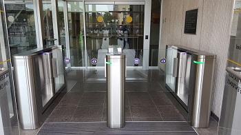 SlimLane NK NAM Security Entrance Lanes Turnstiles Automatic Systems