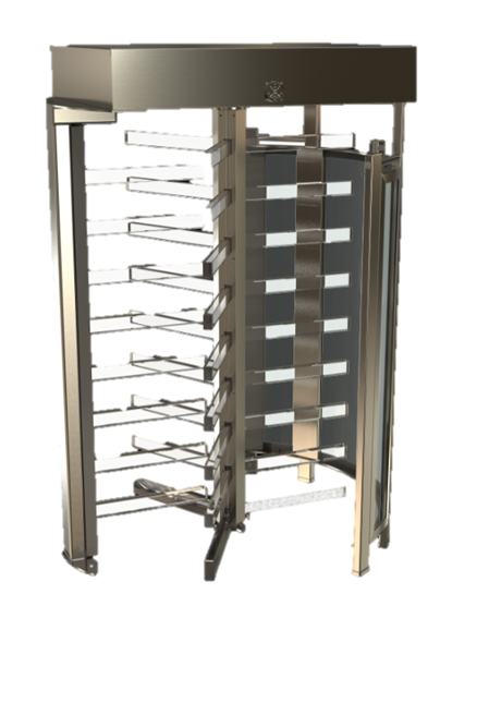 TRS 370P Full-Height Turnstile Automatic Systems