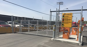 BLG 77 NAM Rising Fenced Barriers Automatic Systems