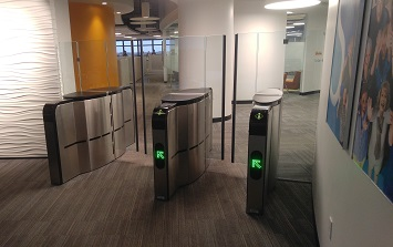 SmartLane 902-912 NAM Security Entrance Lanes Turnstiles Automatic Systems