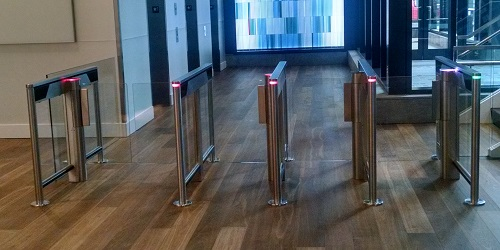 SlimLane 944-950 NAM Security Entrance Lanes Turnstiles Automatic Systems